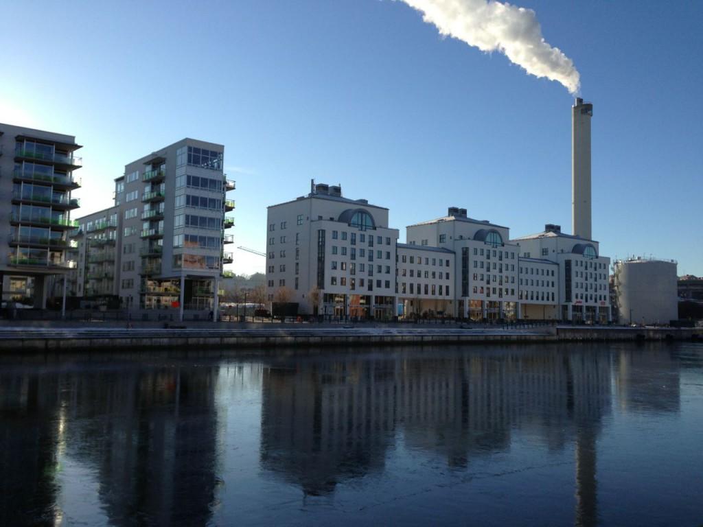 Hammarby Sjöstad från Södermalm