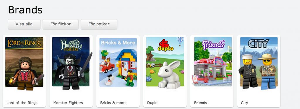 Lego för flickor